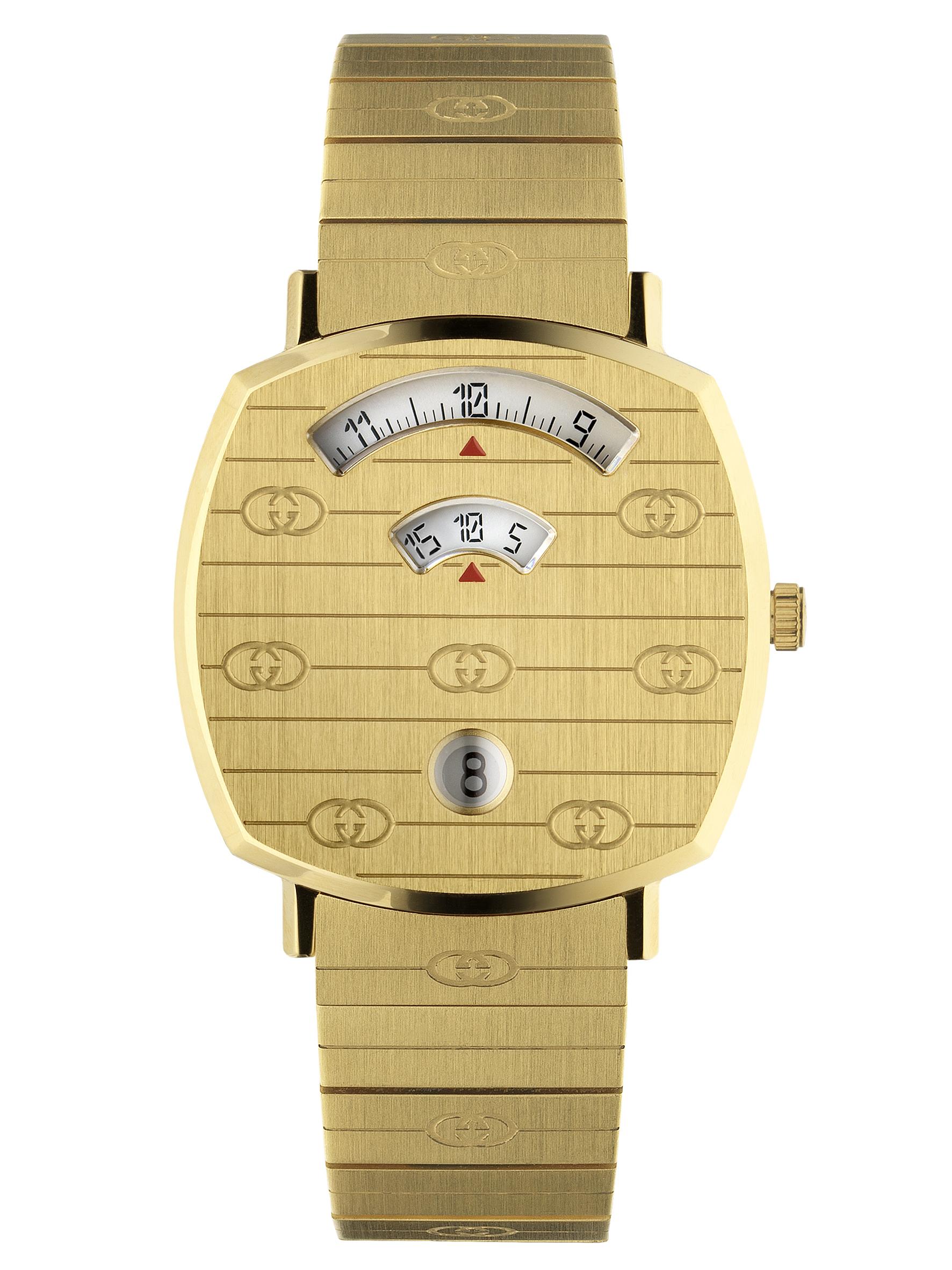 高級優雅風範─Gucci「Grip」腕錶