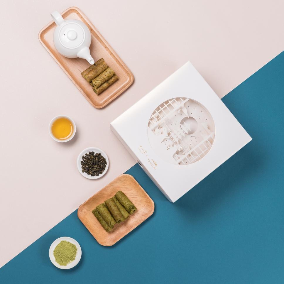 誰說只能送月餅?不二堂 x 辻利茶舗跨界合作推出2019 中秋聯名禮盒「茶遊月光」