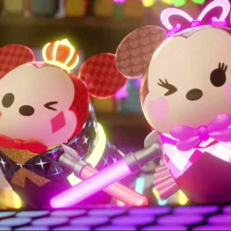迪士尼粉絲不能錯過!Switch版Tsum Tsum太可愛了啦!