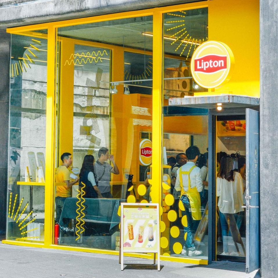 日本爆紅超人氣洗版夢幻飲品登台!立頓玩茶鋪 Lipton PARTEA 華山期間限定開幕