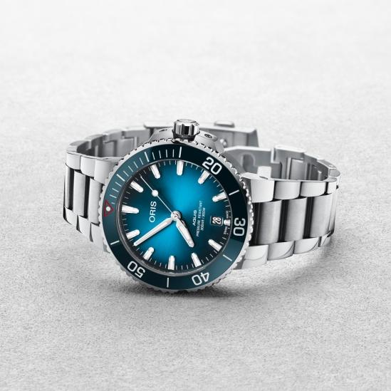 致力消除海洋塑料的決心!Oris 推出高性能的潔淨海洋限量腕錶