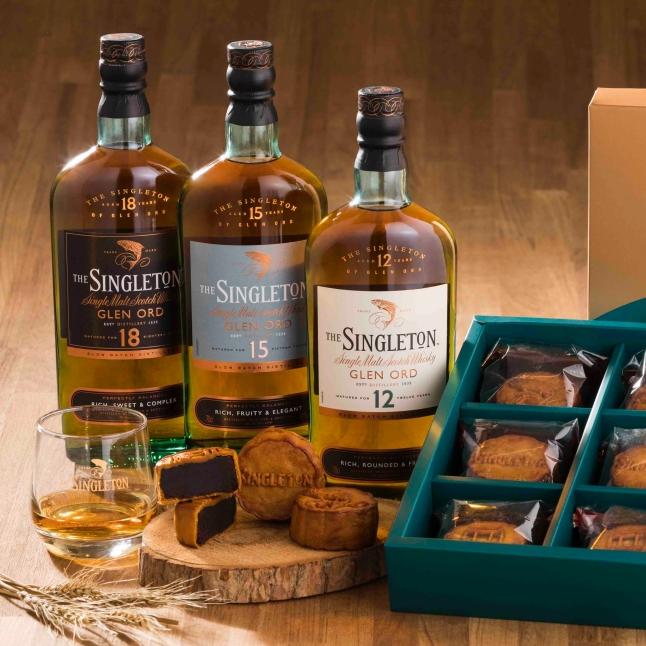 開拓都會雅仕的新生活風格!蘇格登與舊振南攜手推出「敬月典藏威士忌月餅禮盒」