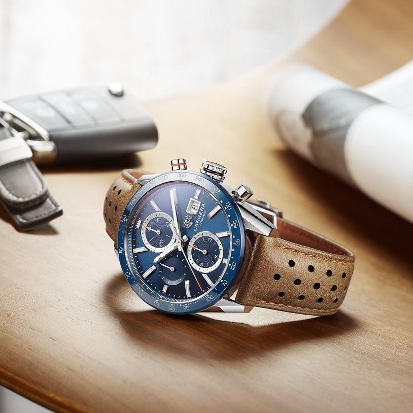 TAG Heuer 泰格豪雅全新「Carrera Calibre 16」腕錶