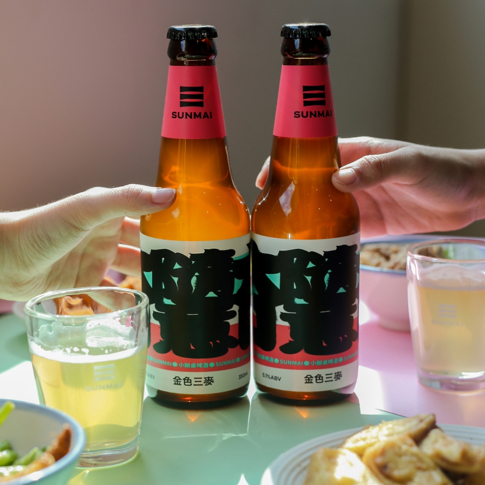 百家鹹酥雞計畫席捲街頭巷尾!台灣精釀啤酒品牌 SUNMAI 推出小辦桌啤酒