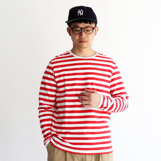簡單好搭配!夏日就以「橫條紋 T-shirt」穿出日系男子的清爽氛圍吧