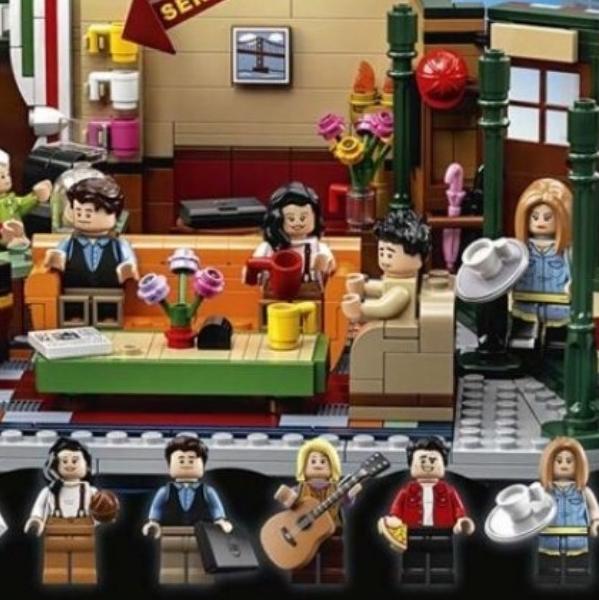 《六人行》25周年!LEGO推出收藏紀念版!