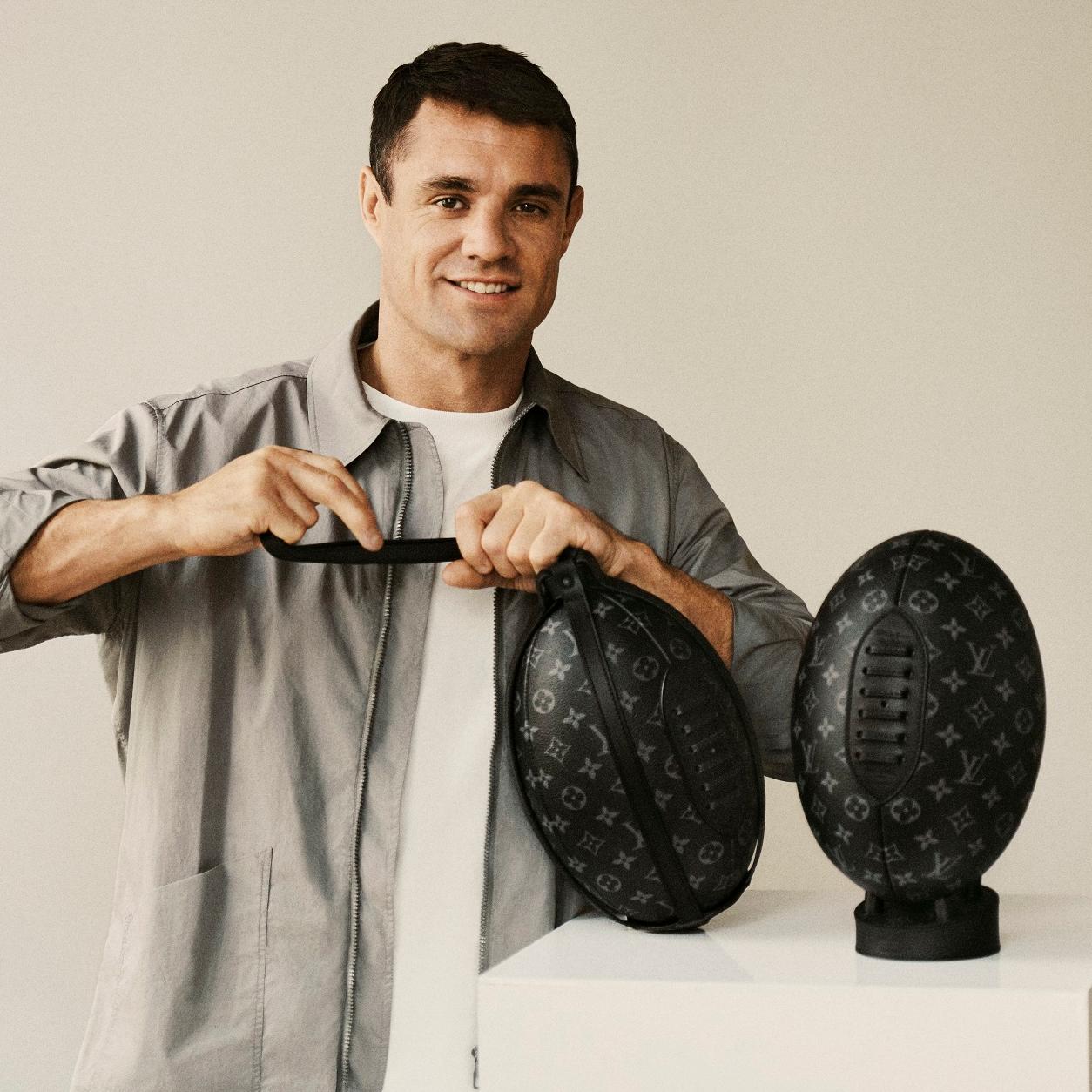 鬼罕限定─路易威登推出品牌史上首款橄欖球