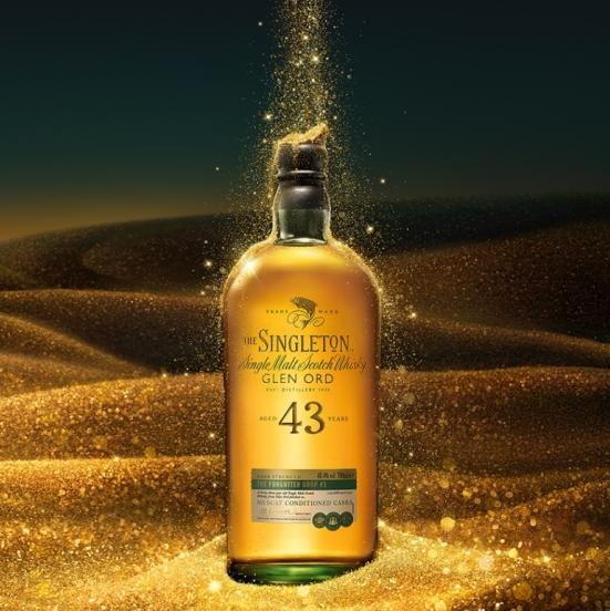 全台限量 130 瓶!蘇格登推出最高年份典藏酒款「窖藏系列最終章 43 年原酒」