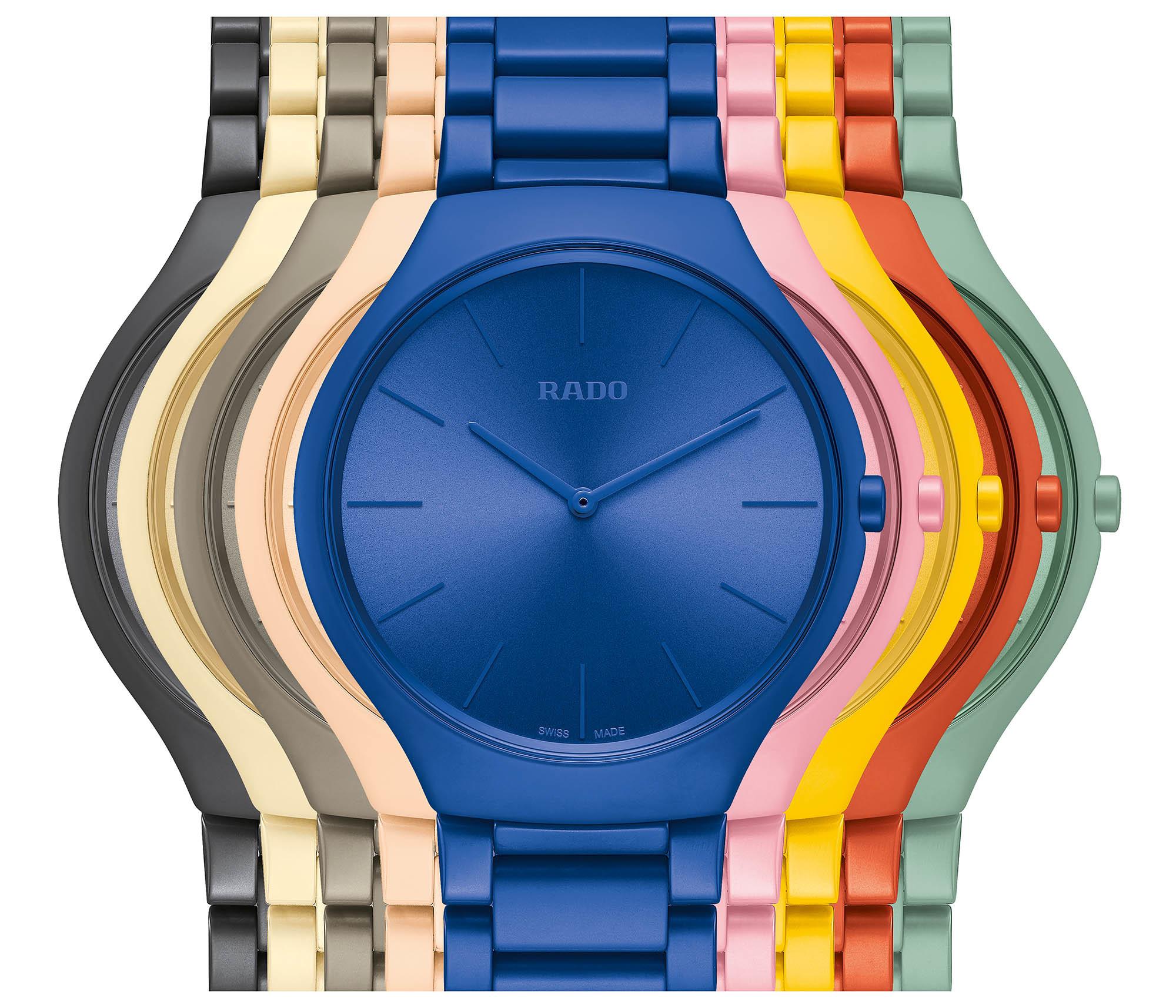 以色彩為題─Rado「True Thinline」陶瓷限量腕錶