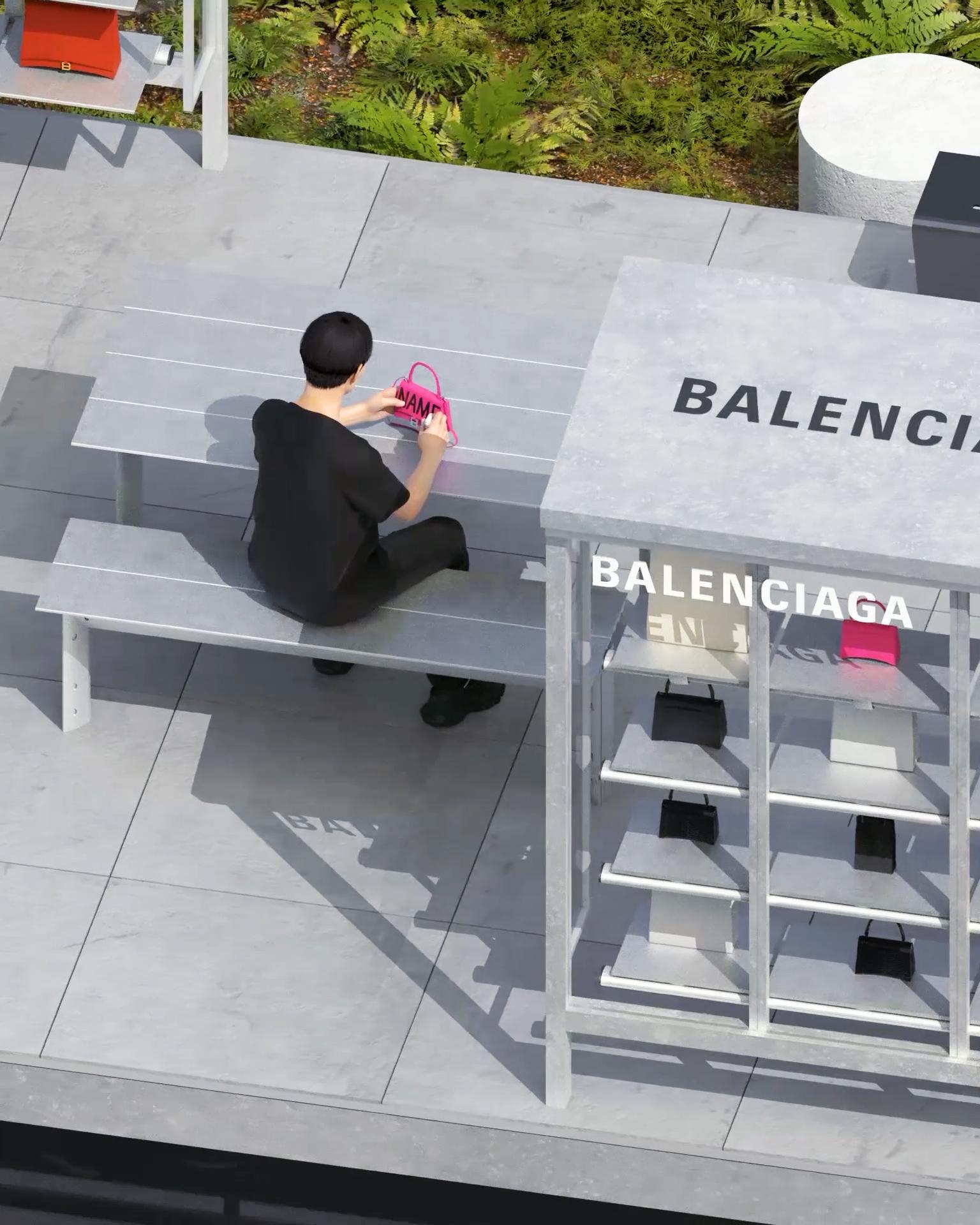 BALENCIAGA 特選包款限時專賣店及塗鴉訂製服務