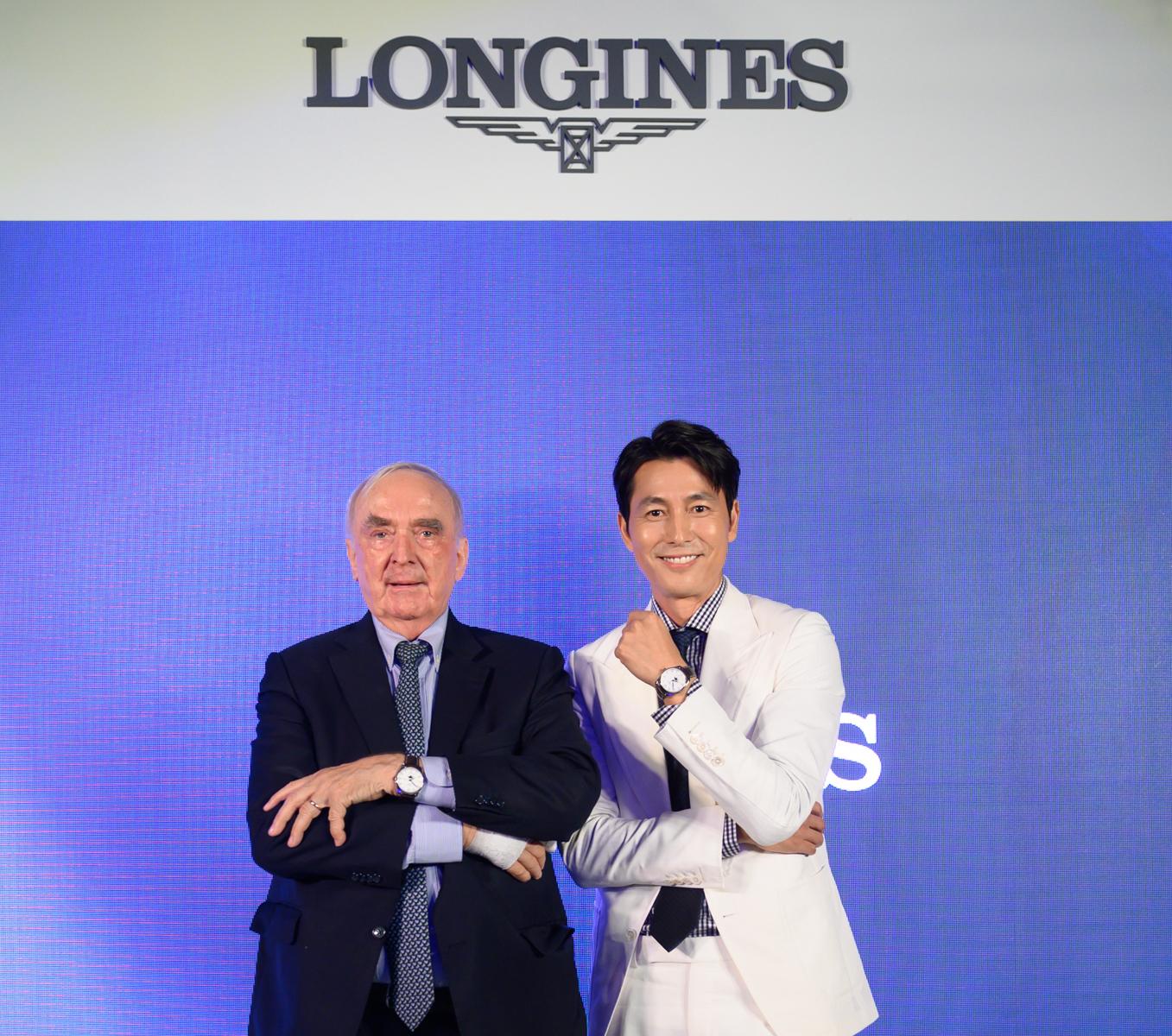 男神演繹全新 Longines 浪琴表「Master」巨擘系列
