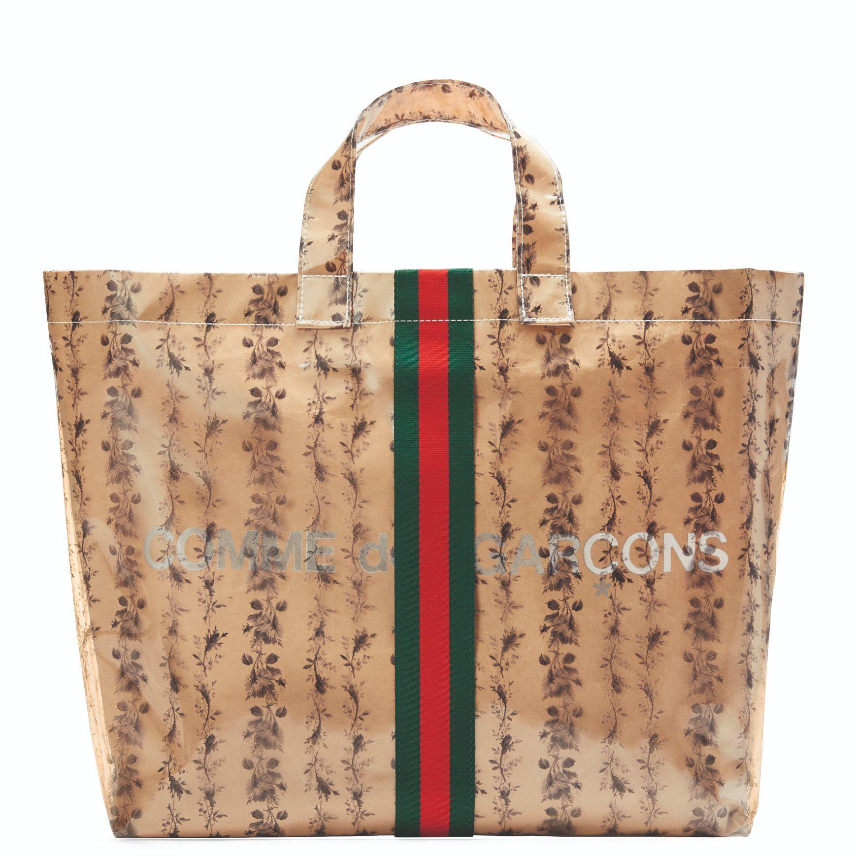 Gucci x Comme des Garçons 聯名包款