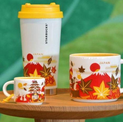 日本星巴克獨家限定!粉絲必買秋季系列富士山杯