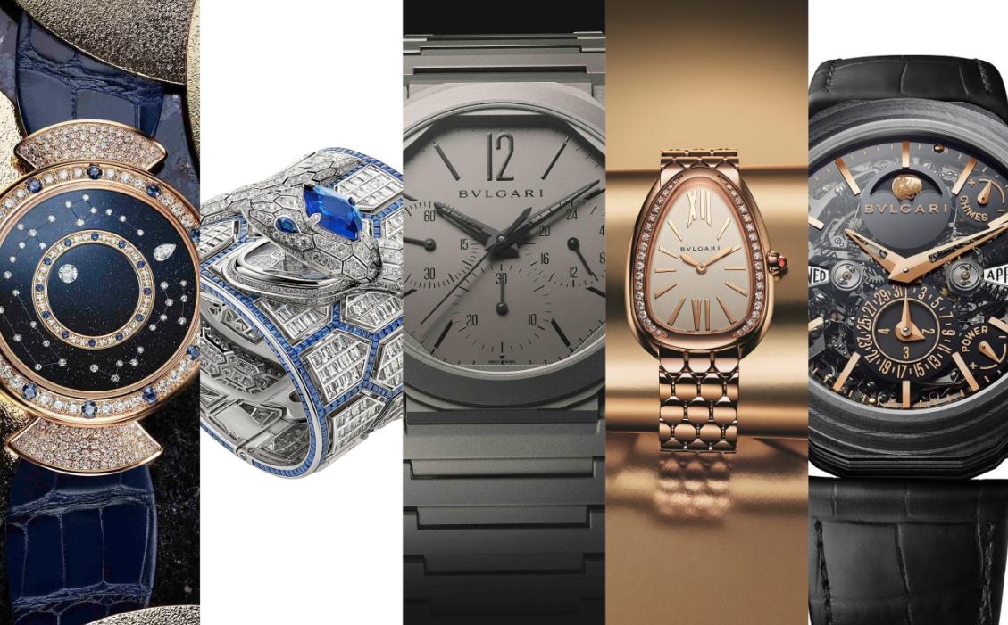 寶格麗以五只腕錶傑作入圍「鐘錶界奧斯卡」!