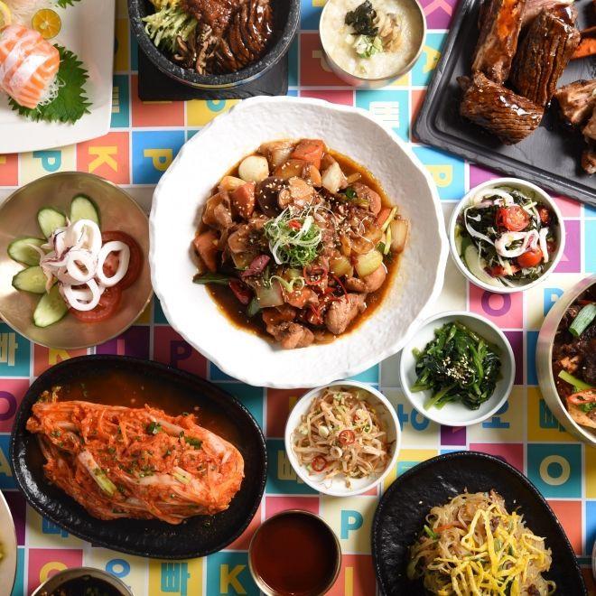 大啖美食!台北 W 飯店 the kitchen table 展開「KAI-POP 歐爸開趴囉!」快閃韓式主題餐飲活動