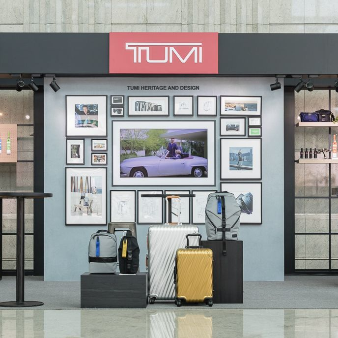 TUMI pop-up store 登陸台北101!
