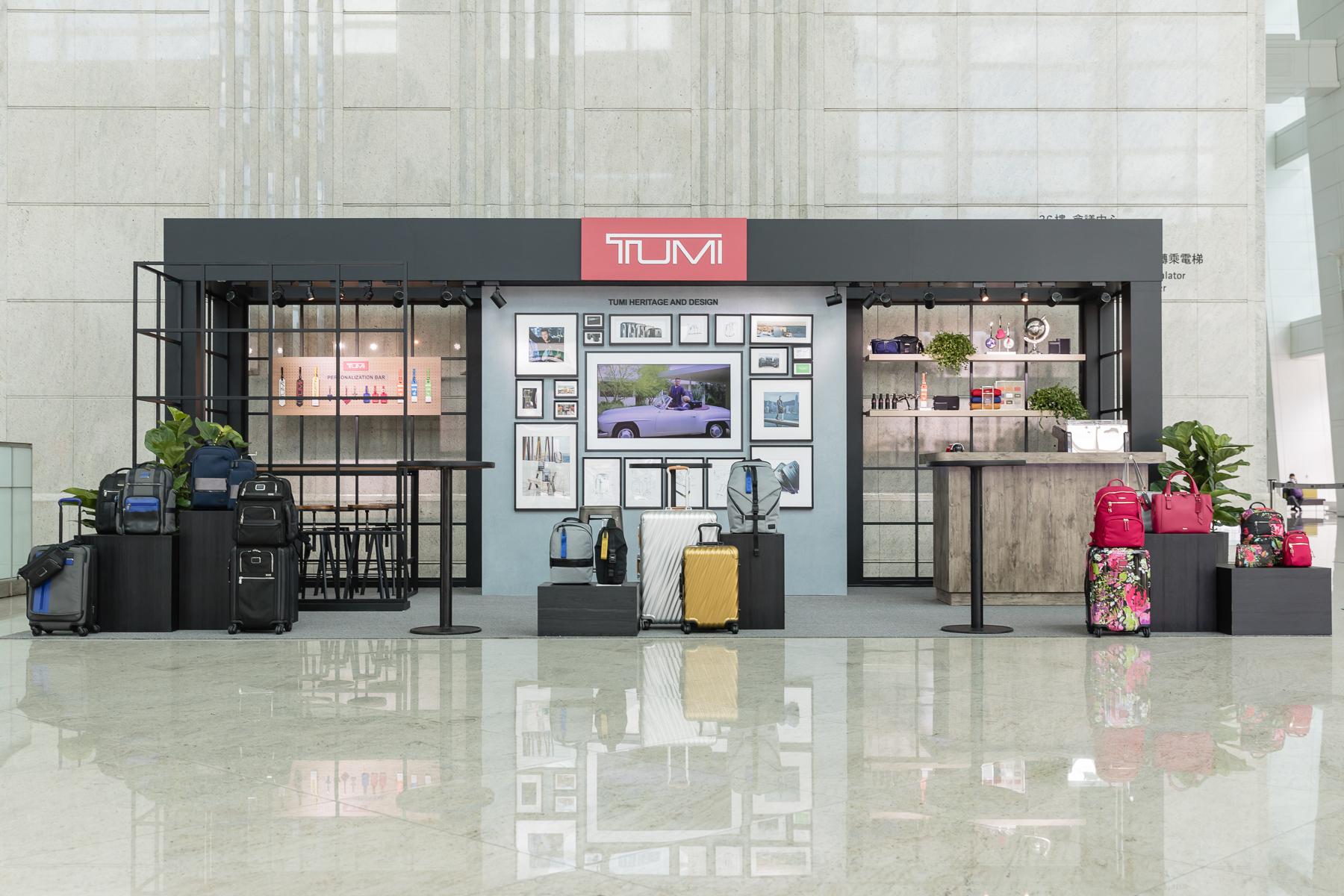 TUMI pop-up store 登陸台北101!
