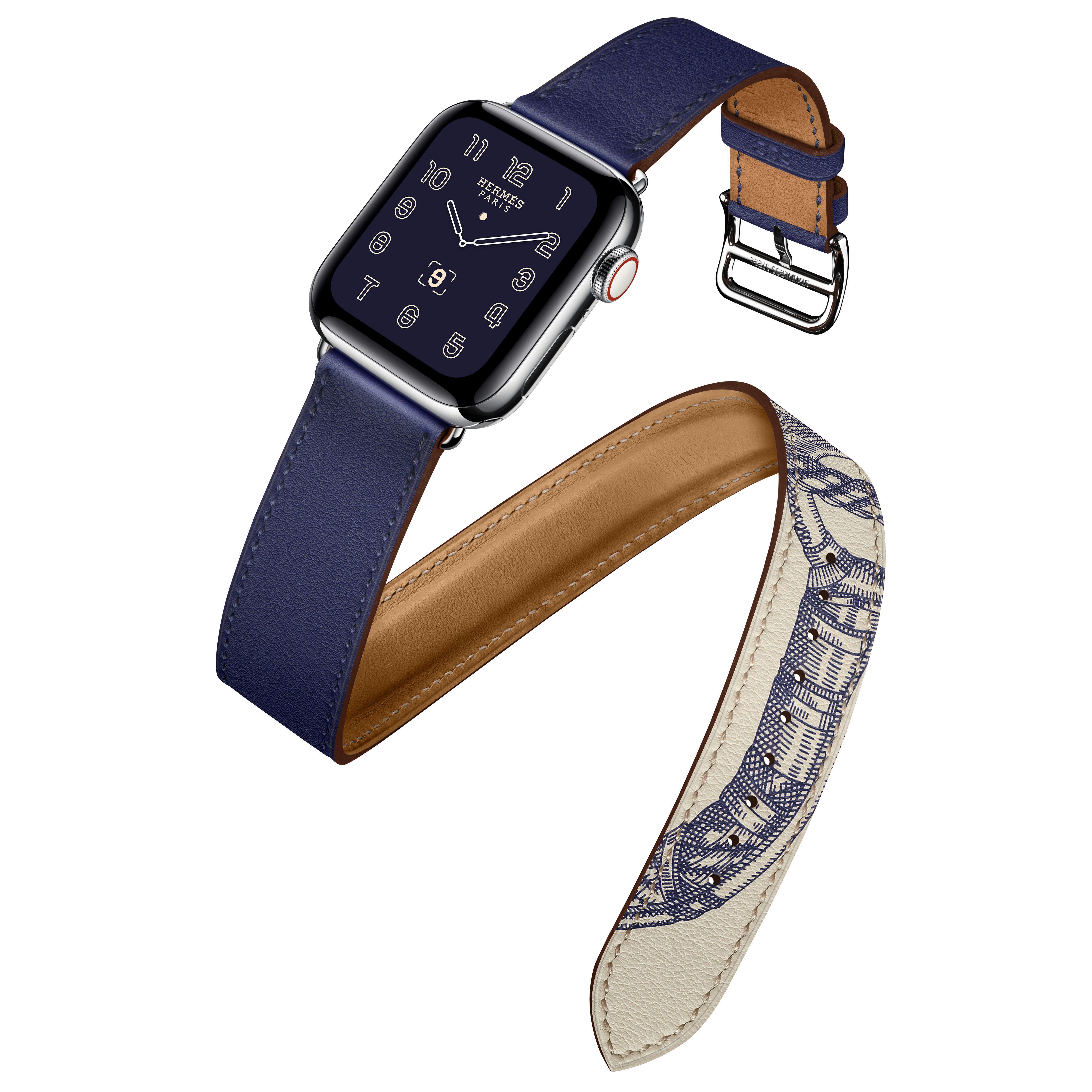 戲劇性的全新合作系列─Apple Watch Hermès