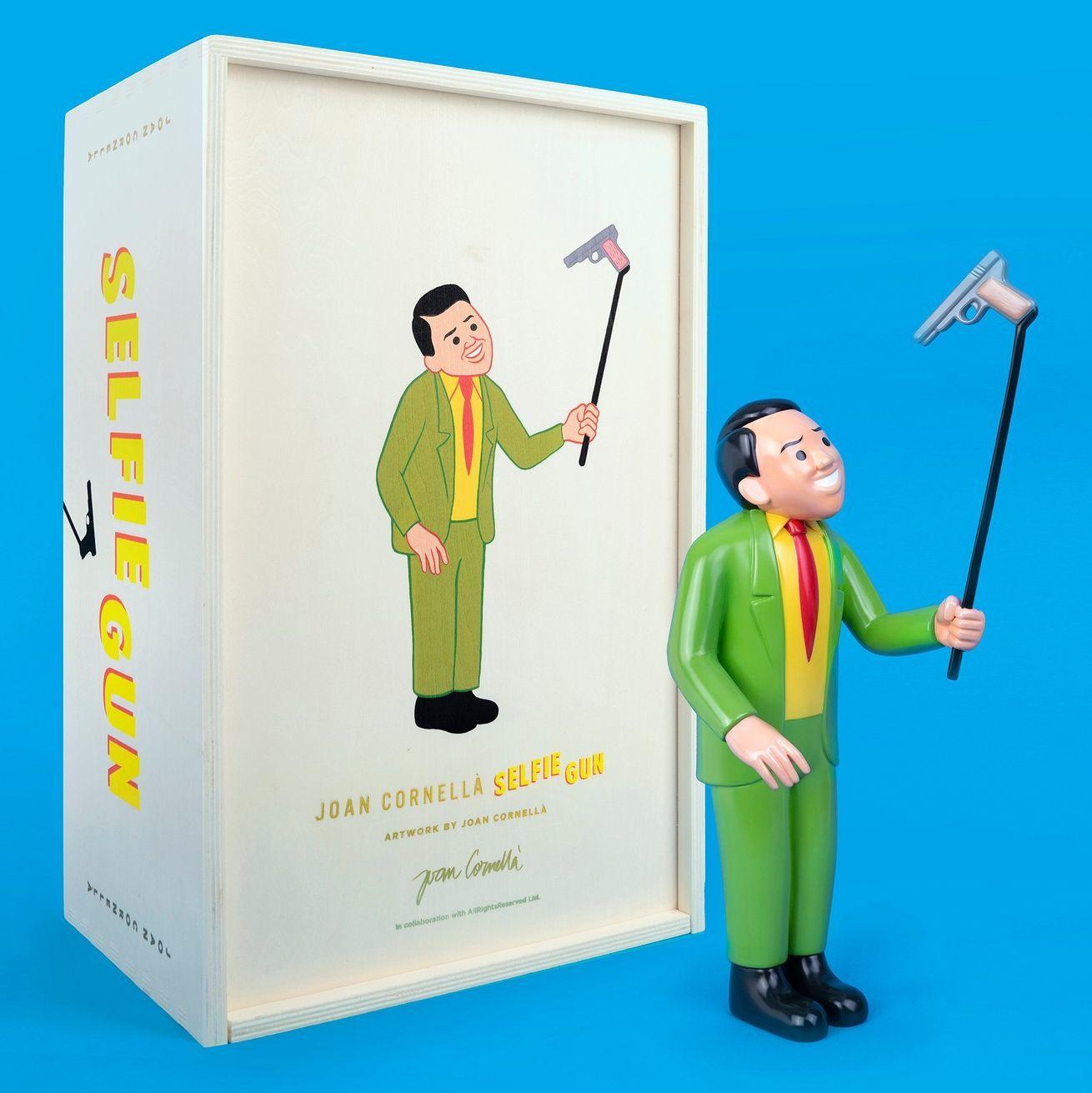 黑色幽默的代表Joan Cornellà 成名作雕塑全球僅限量發售15個