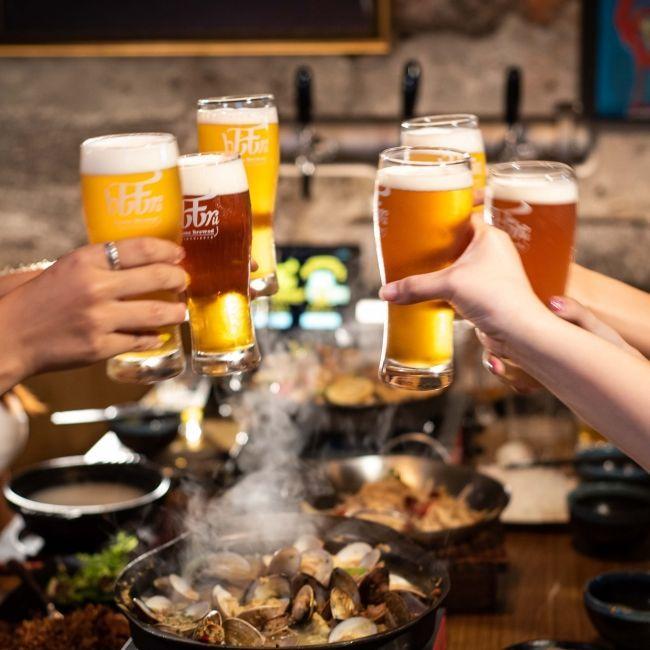 大口喝酒、大口吃肉!「bEEru 啤調客精釀啤酒屋」創意台菜、精釀啤酒征服你的胃