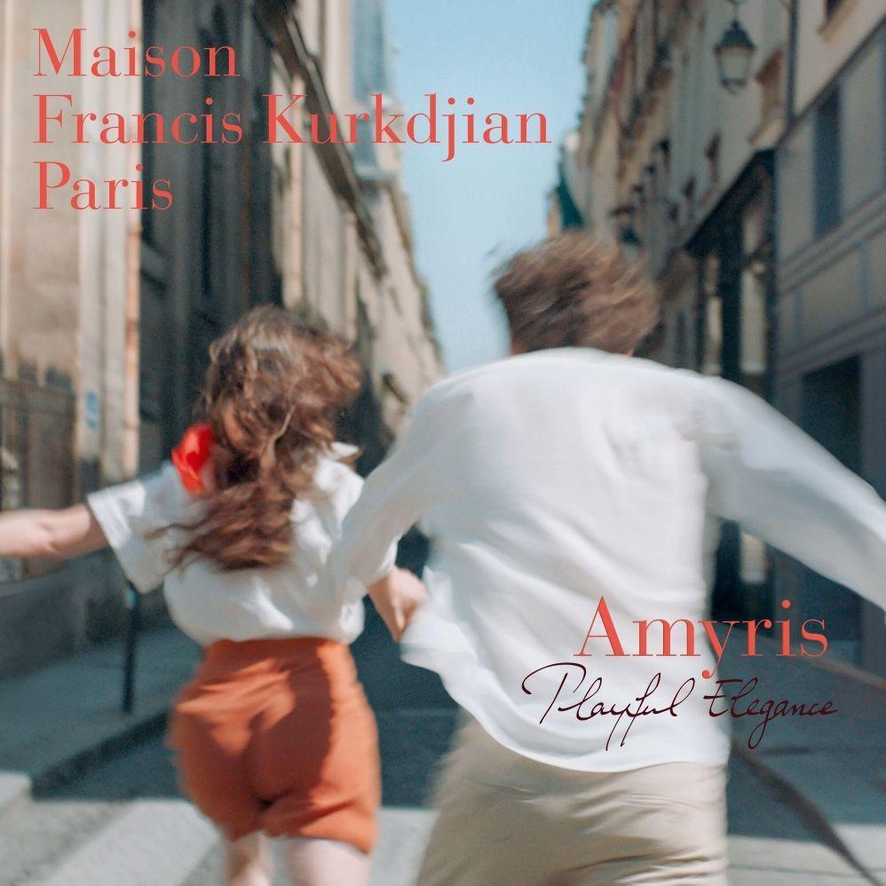 闖入優雅的秋季遊樂場!法國精品香水品牌 Maison Francis Kurkdjiany 推出阿米香樹香精版
