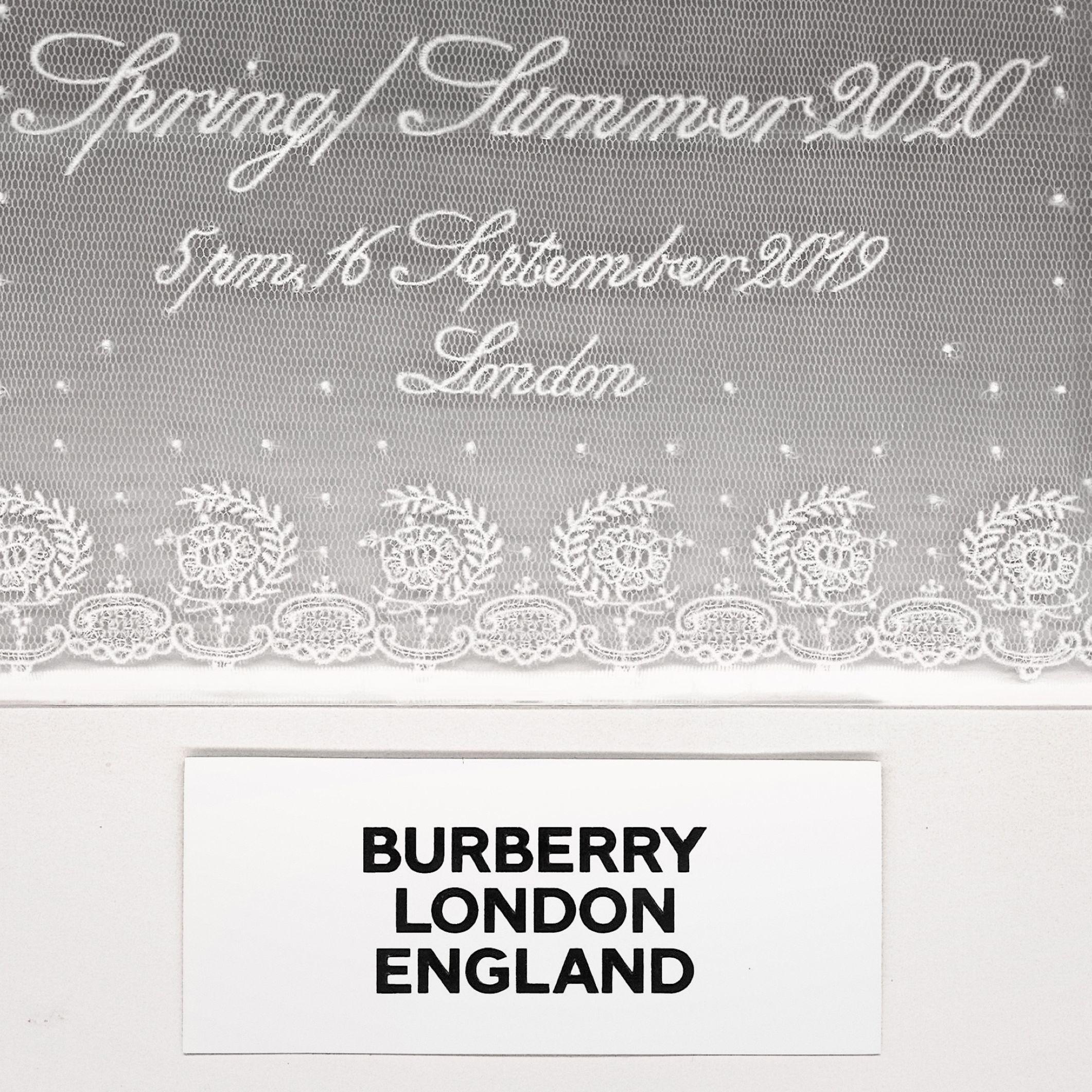 BURBERRY SS20 春夏時裝大秀