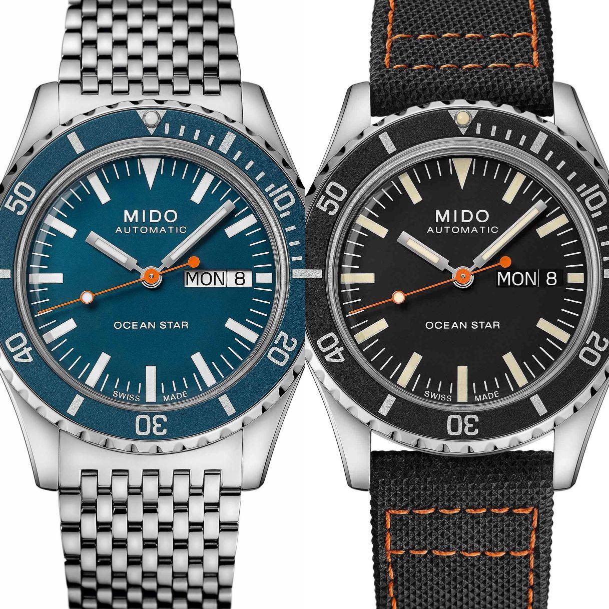 跨越半世紀的傳奇潛水錶─MIDO Ocean Star Tribute