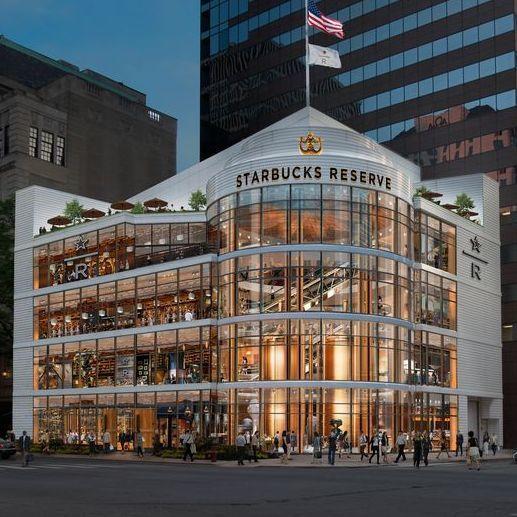 全球最大星巴克旗艦店 芝加哥店不止賣咖啡