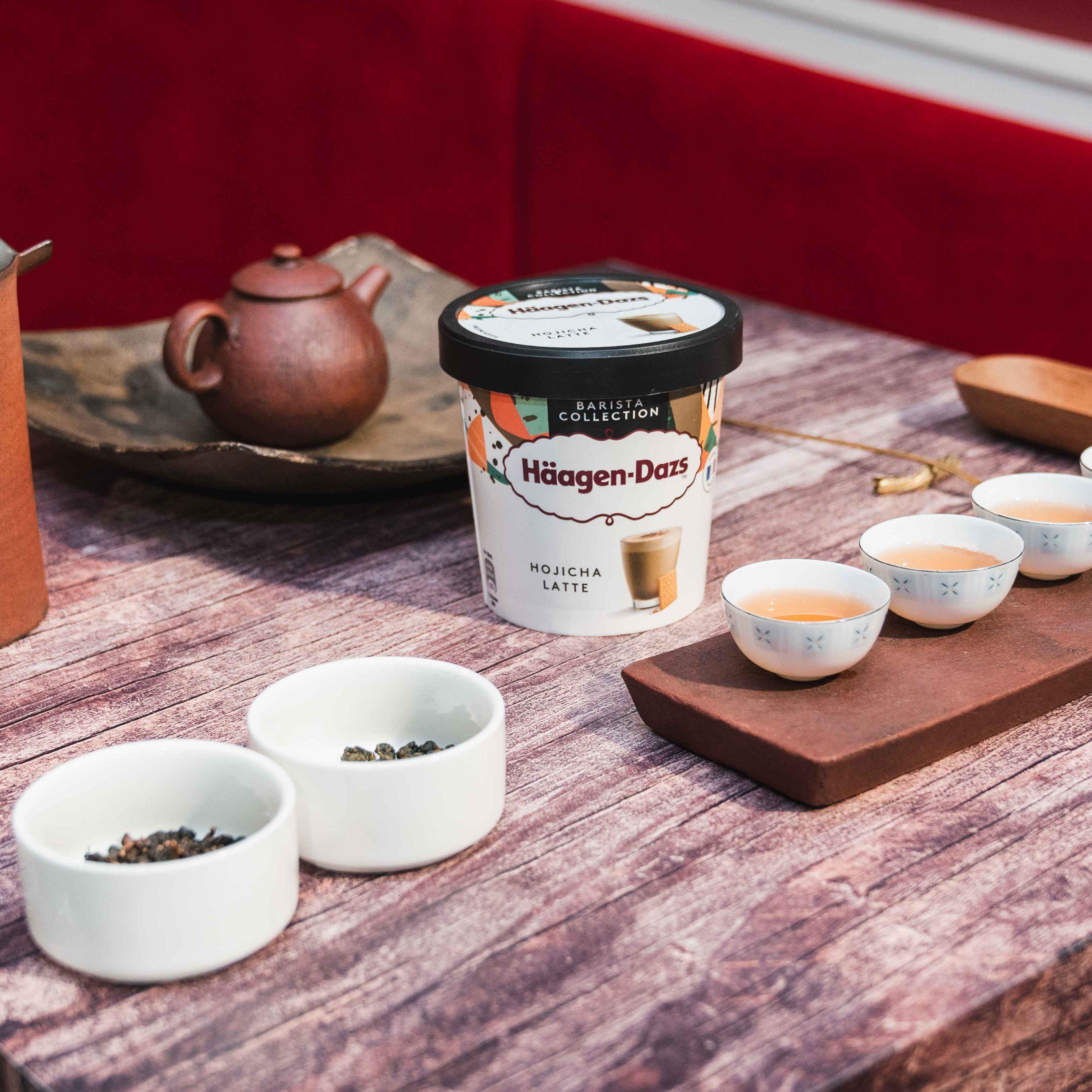 品味大人限定的成熟濃厚!Häagen-Dazs 職人嚴選系列「義式布朗尼瑪奇朵」、「日式焙茶拿鐵」全新上市