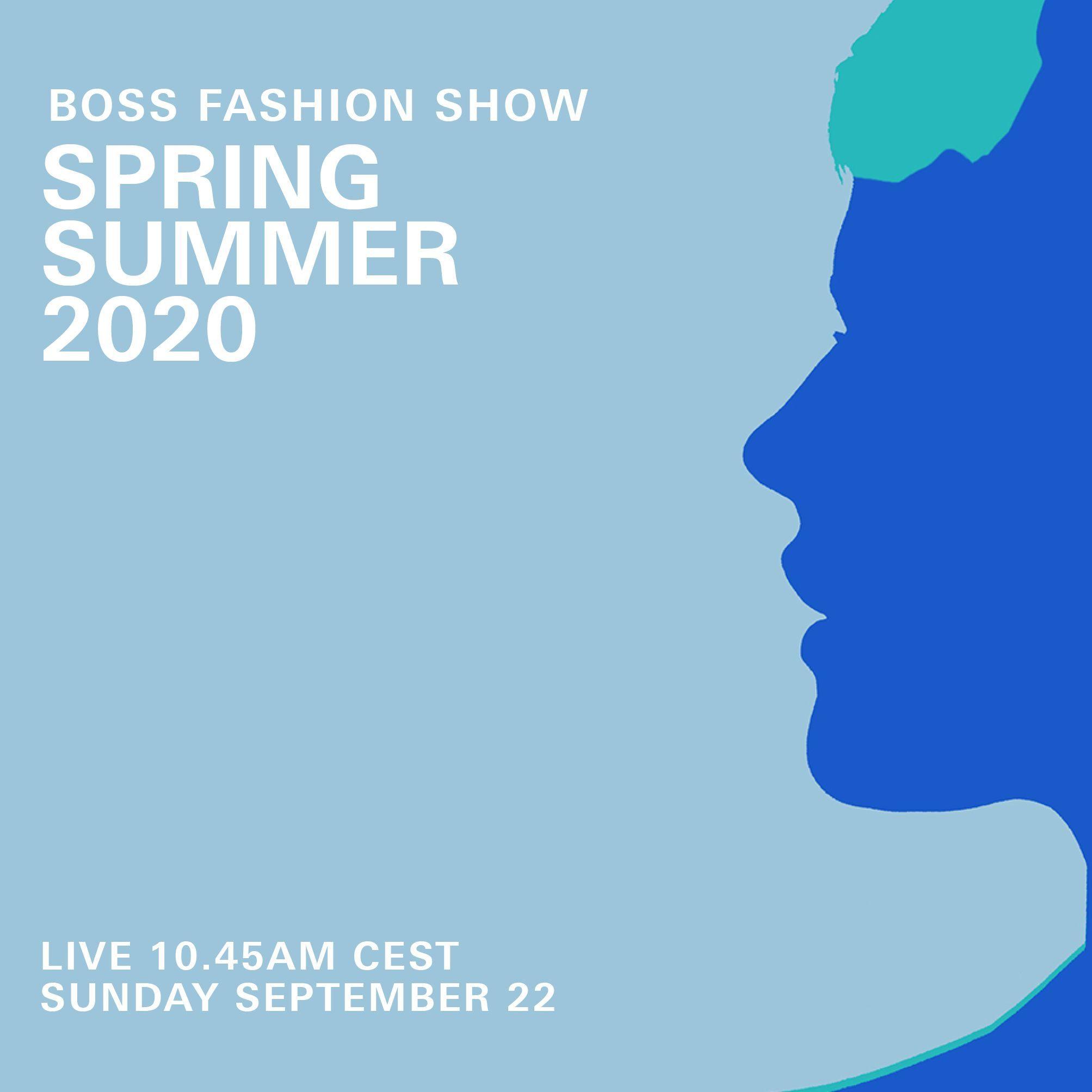 BOSS 2020 年春夏大秀