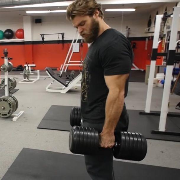 健身將前臂肌肉練一下!3個動作將大大提升你的成效!