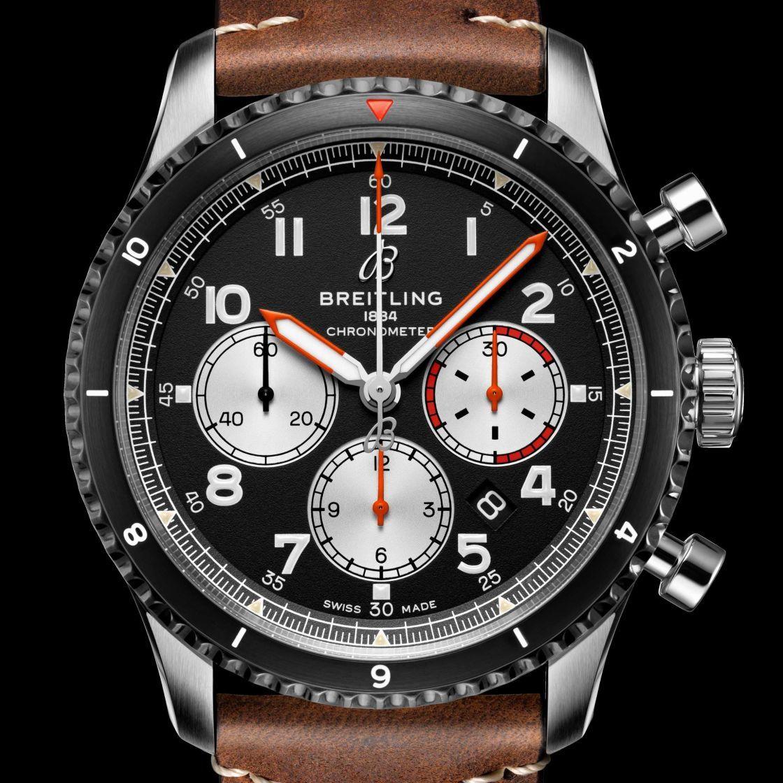 向經典致敬─百年靈 AVIATOR 8 MOSQUITO 航空計時腕錶
