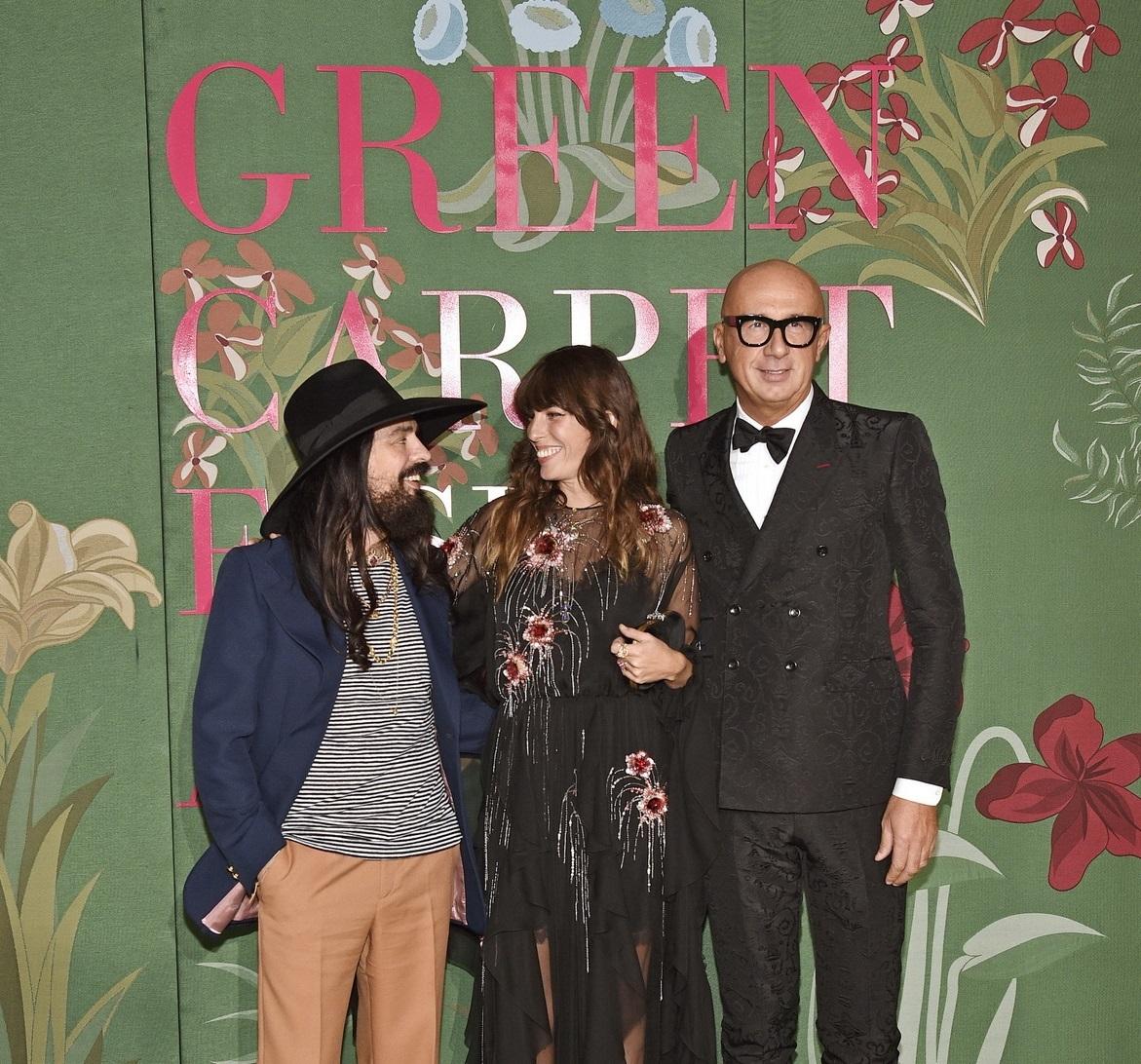 Gucci 攜手「綠毯時尚大獎」獲獎者宣揚可持續發展時尚!