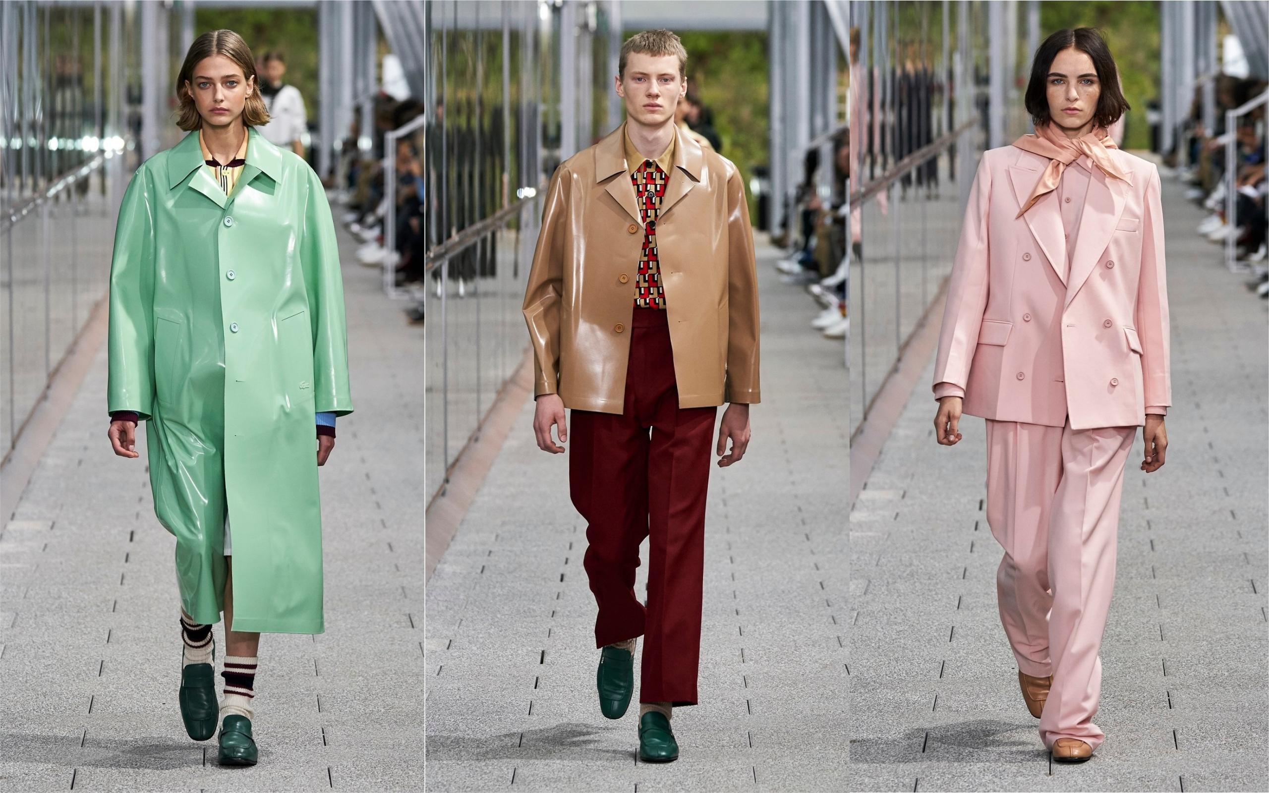 顛覆傳統的當代美學─LACOSTE 2020 春夏巴黎時裝秀