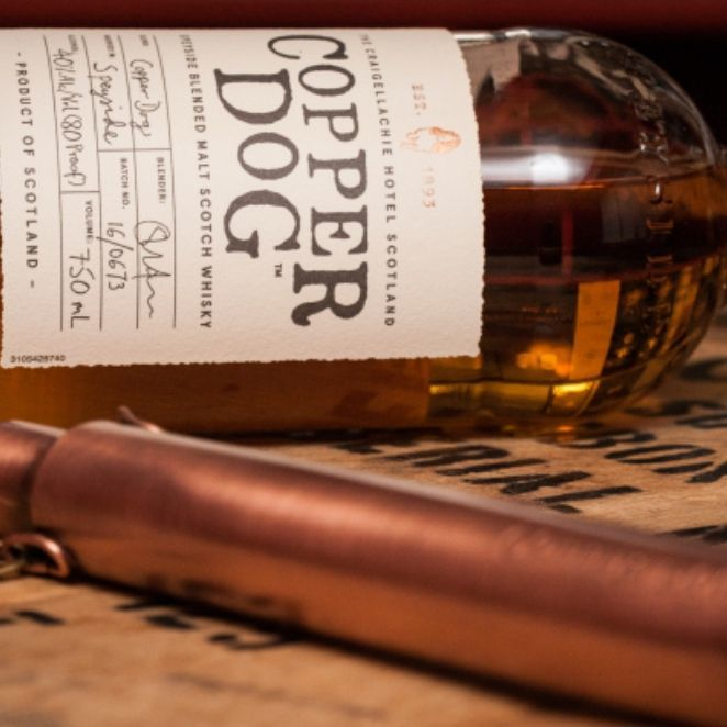 源自威士忌的禁忌傳說!Copper Dog 調和式麥芽蘇格蘭威士忌首度在台上市