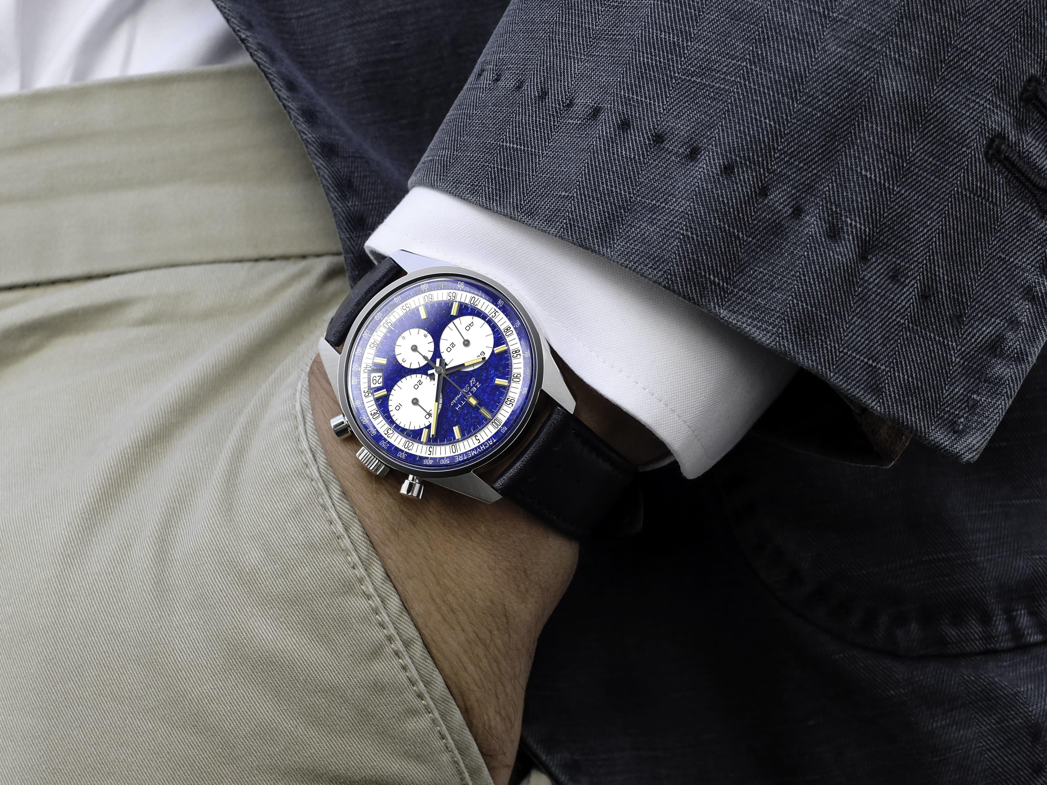 ZENITH 真力時 x Phillips 富藝斯拍賣行攜手打造 El Primero 鉑金計時碼錶