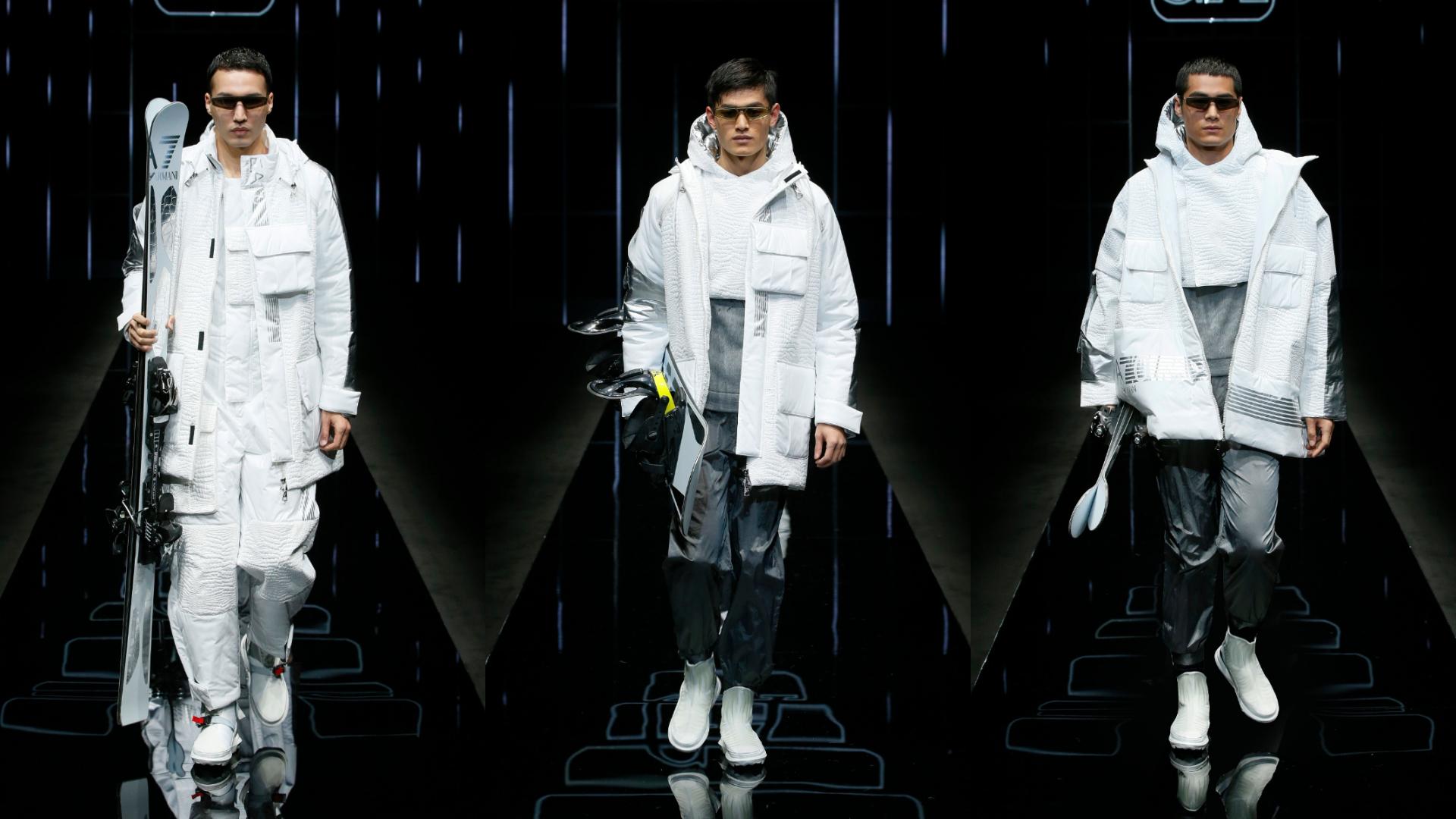 EA7 Emporio Armani 滑雪服飾
