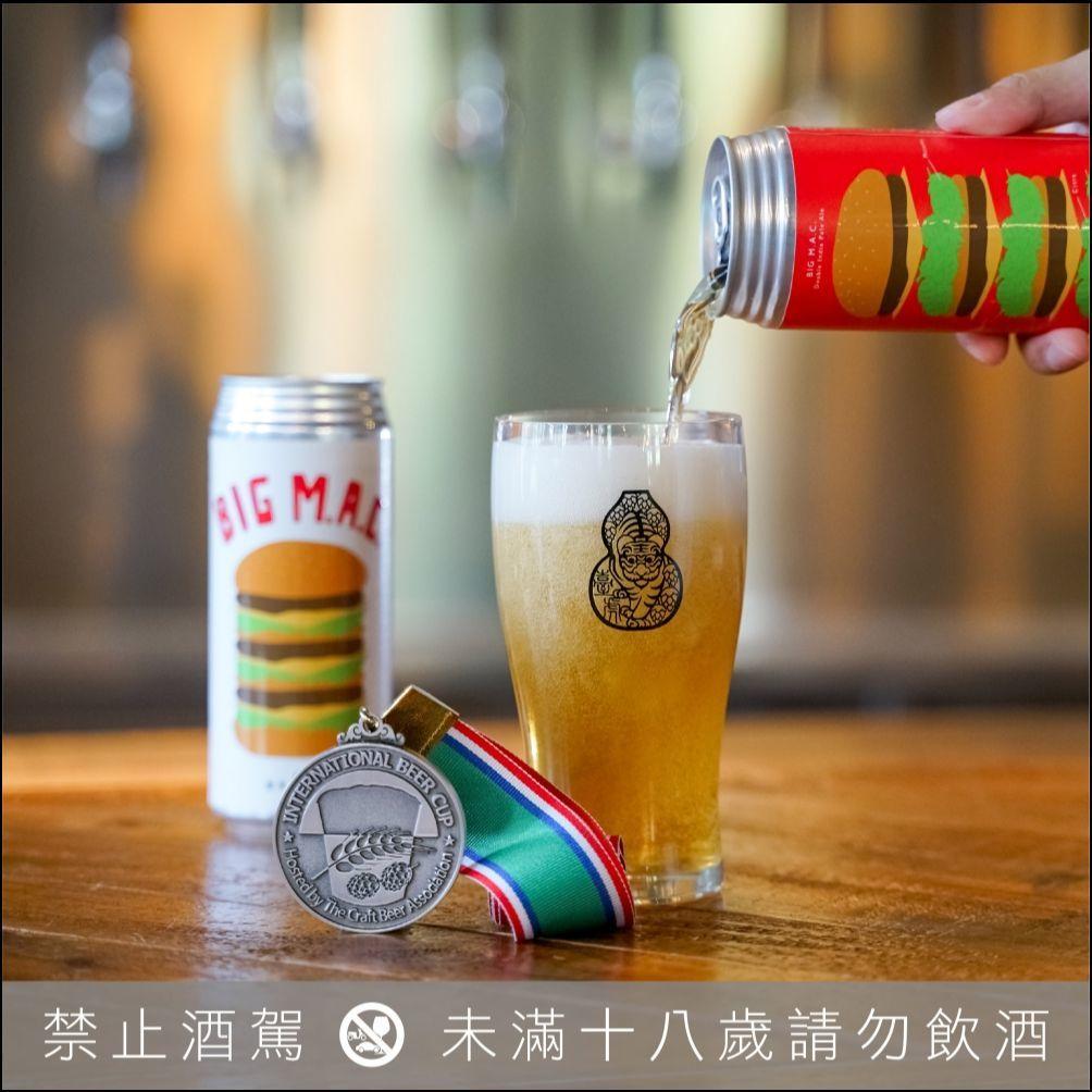 國際啤酒大賽勇奪 1 金 2 銀!「臺虎精釀」為分享喜悅,特別推出銀牌賞的臺虎大麥克罐裝版
