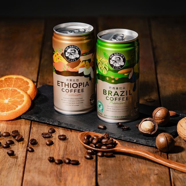 使用 100% 雨林聯盟認證豆!金車伯朗推出兩款「精品咖啡」,銅板價就能輕鬆享受
