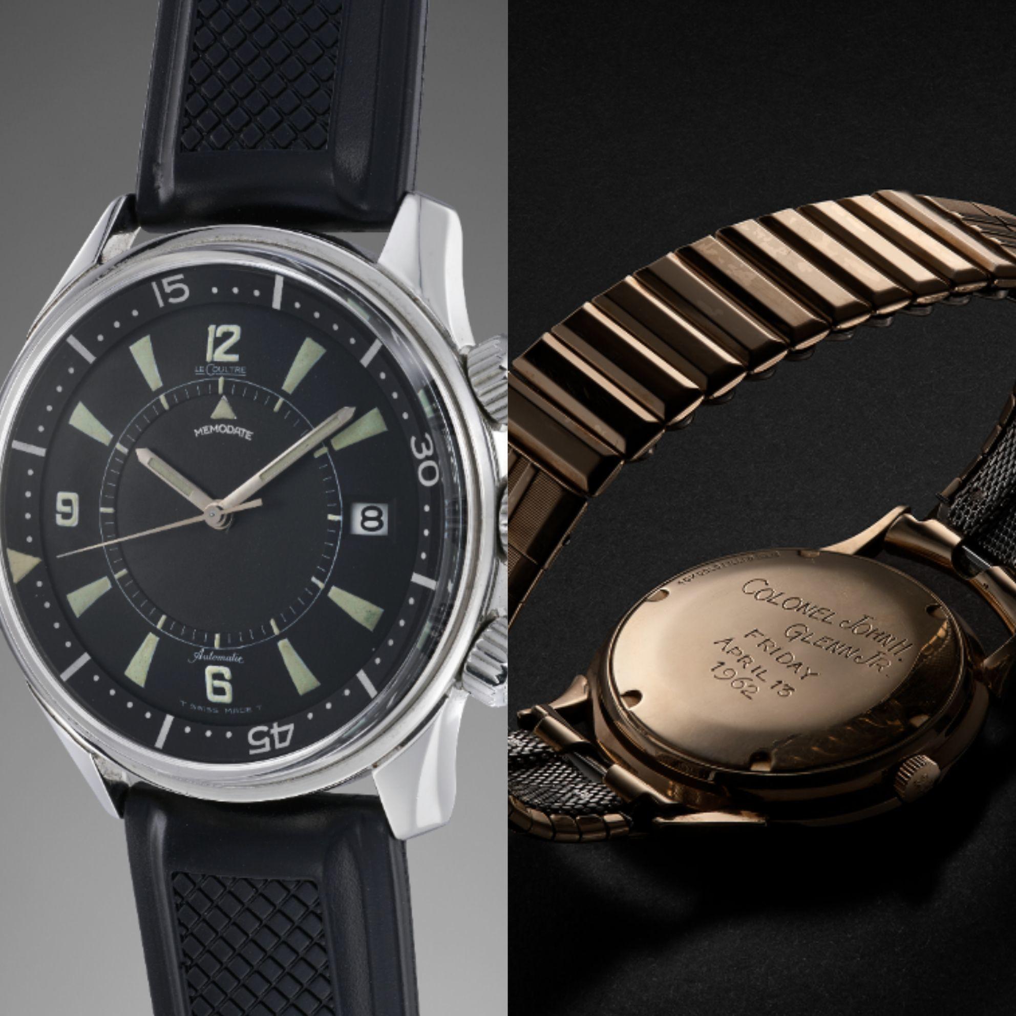 珍罕拍賣藏品彰顯積家精湛製錶工藝