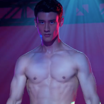 人氣韓裔鮮肉Alex Landi 出演脫衣舞男好身材令人尖叫!