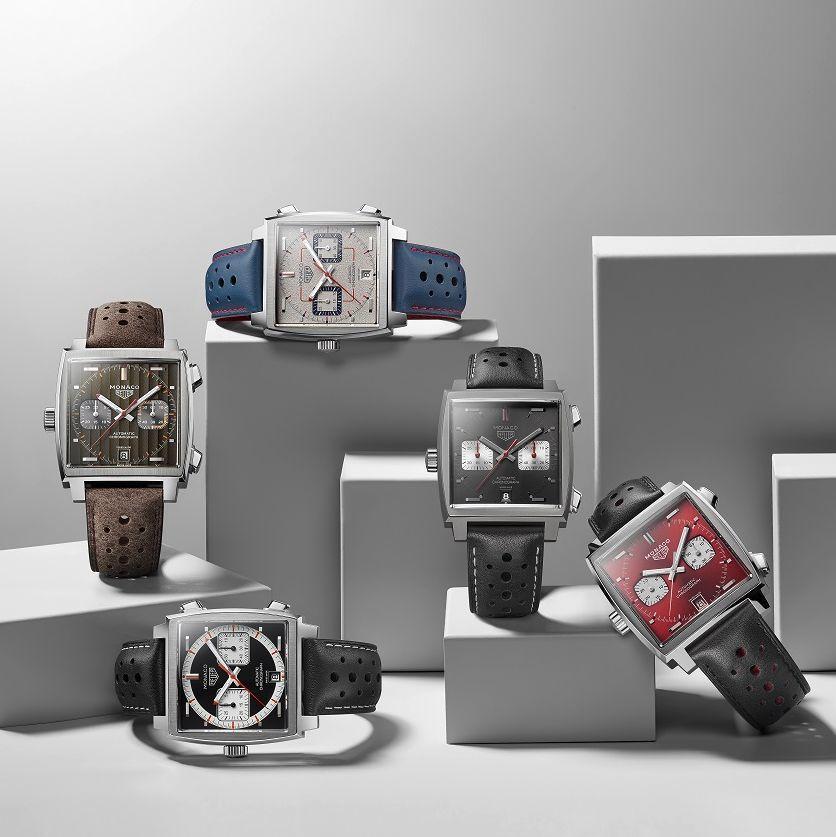 TAG Heuer泰格豪雅推出第五款限量典藏版腕錶