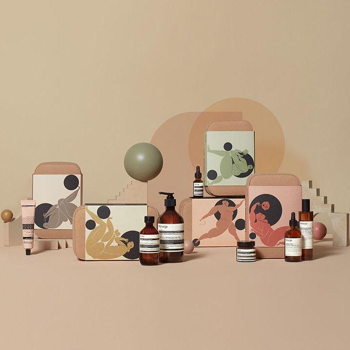 不斷在藝術中尋覓靈感,最後 Aesop 決定推出「繆思與神話」年度禮盒系列!