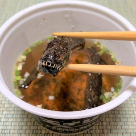 日本百年海鮮乾物店推出異形泡麵!你敢嘗試看看嗎?