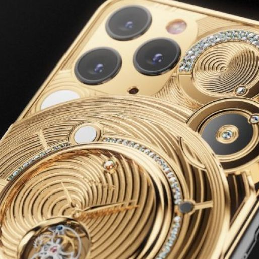 有錢就是任性!iPhone加上黃金陀飛輪,晉升成全球最貴的iPhone 11!