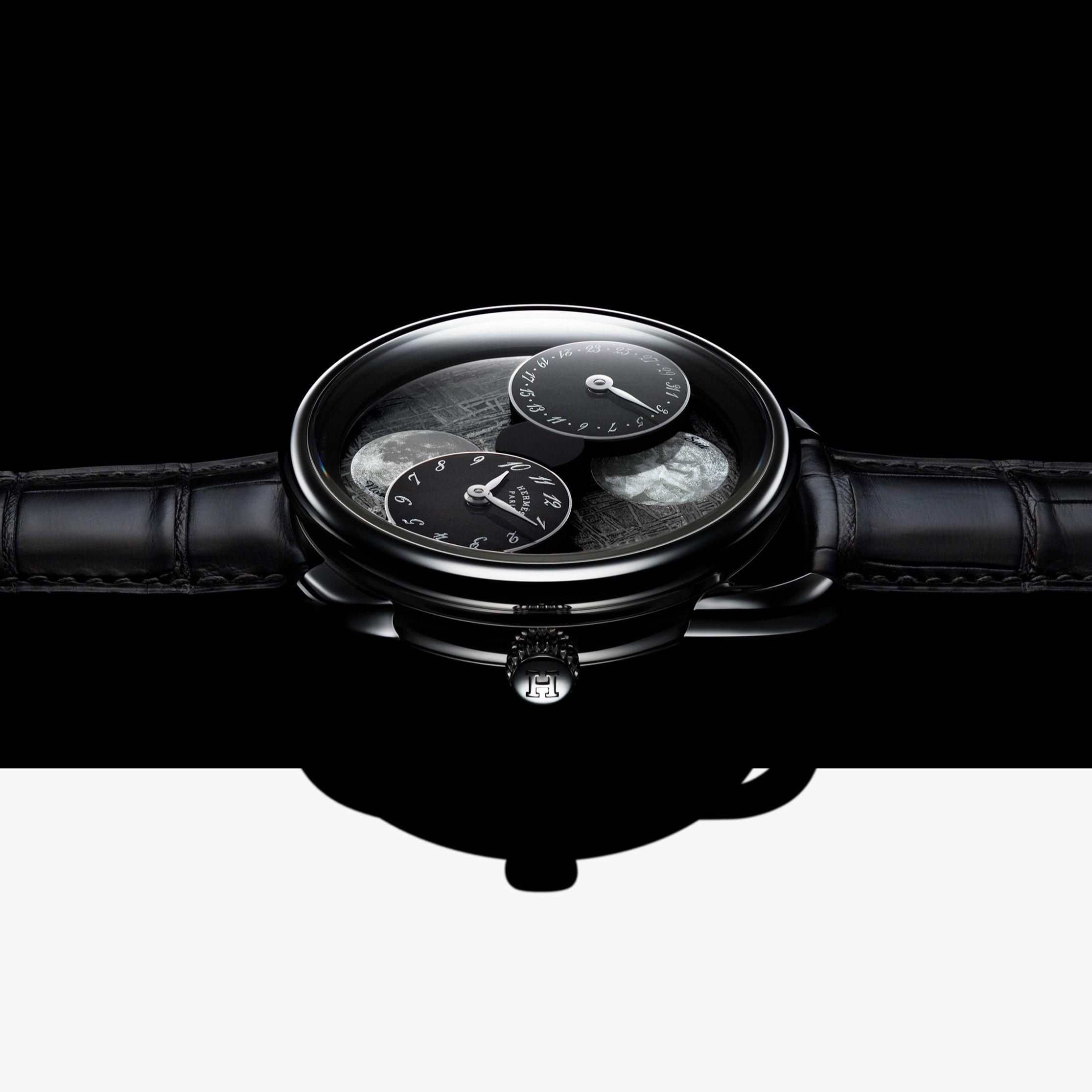 全新愛馬仕「Arceau」系列月讀時光腕錶