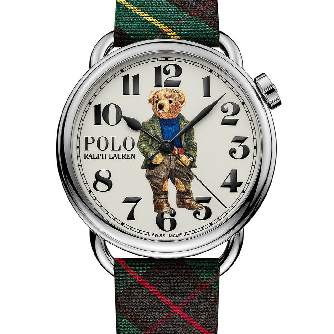 Ralph Lauren 全新 Polo Bear Watch Collection