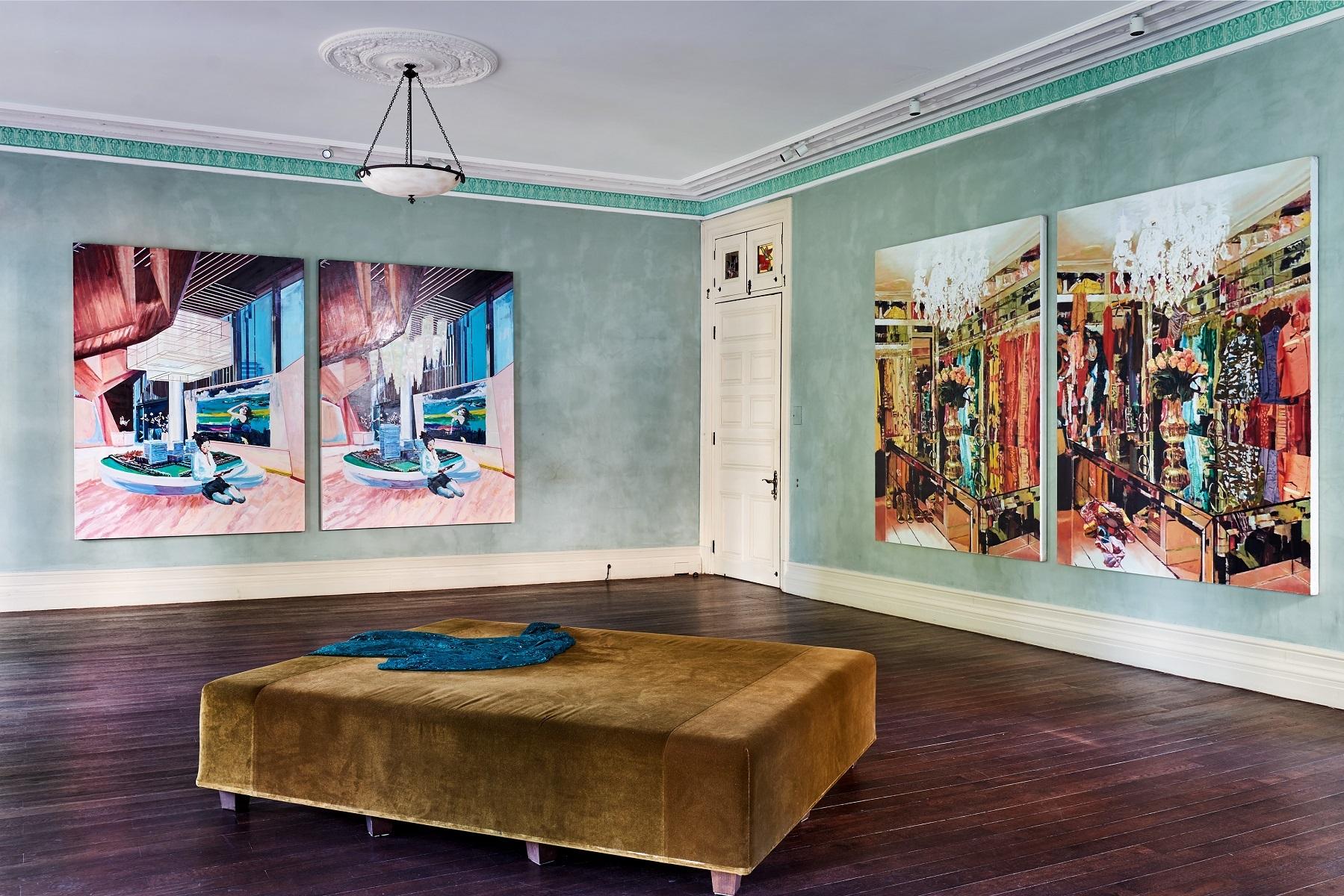 上海 Prada 榮宅舉辦藝術家李青展覽「後窗」