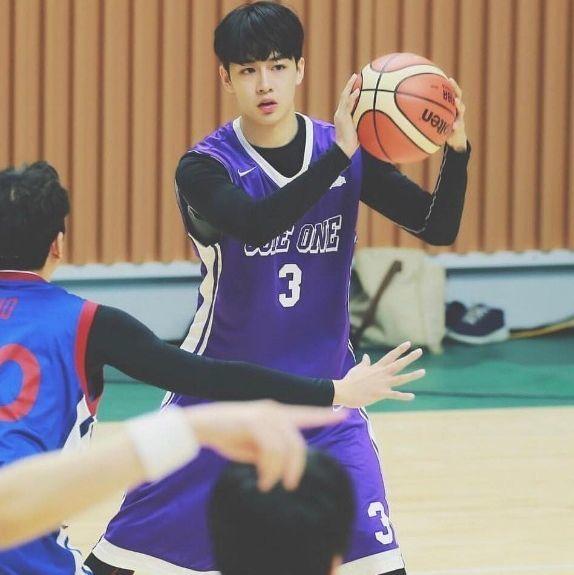韓國籃球員吳智運!帥到和明星一樣就開始當演員了!