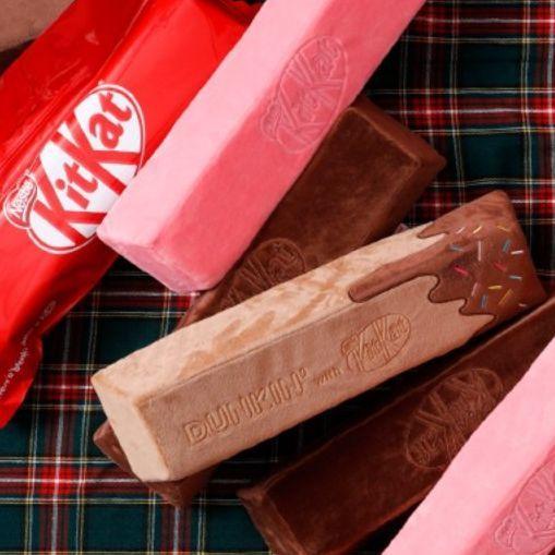 巧克力控注意!韓國推出巨型KitKat 抱枕抱著就幸福!